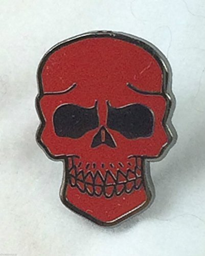 Crâ ne de Pirate et os croisé s Jolly Roger de Badge broche crâ ne Rouge Emblems-Gifts