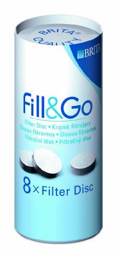 BRITA Fill&Go Replacement Discs - 8 Pack
