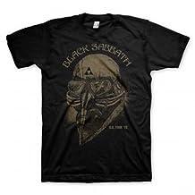 Black Sabbath US Tour 1978 Mask Image Reissue Black T Shirt