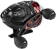 DShanLa Fishing Reel 4.0:1 Gear Ratio 5+1 Ball Bearing 5kg Max Drag Fishing Coil Spincast Reel with 10LB Fishi