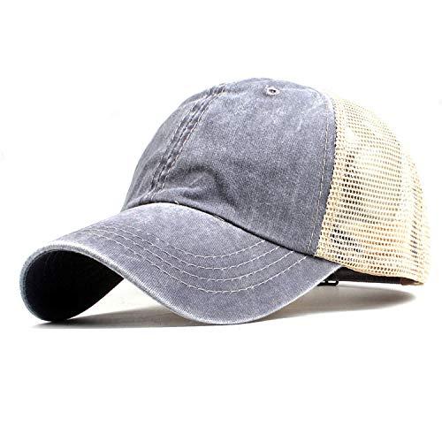 LONIY Fashion Women's mesh Baseball Cap for Men