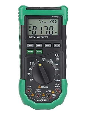 Multimeter MS8229 5 In1 Auto Range Digital Multimeter Multifunction Sound Level Temperature Humidity Tester Meter C.W.USJ
