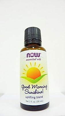 NOW Foods Good Morning Sunshine Oil Blend, 1 Fluid Ounce