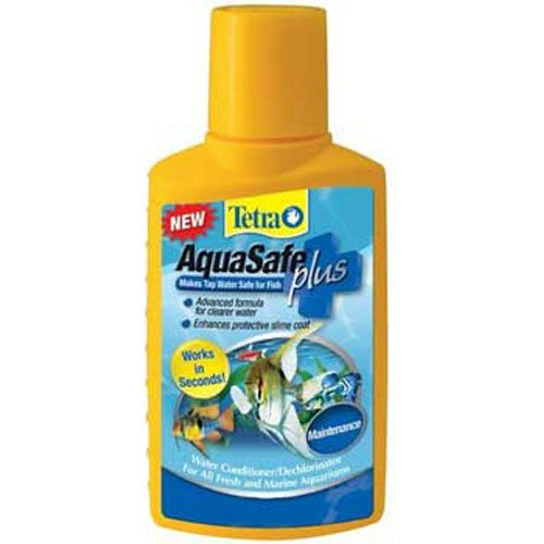 Aquasafe Plus 1 Step 33oz - Conditioner Aqua Tetra Aquasafe Water