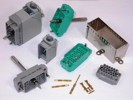 (Rack & Panel Connectors 20P RECEPTACLE WITH NUT)