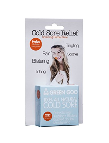 Green Goo Sierra Sage Organics 100% All Natural Cold Sore Travel Tin .7 OZ ()