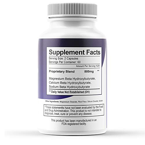 Purefit Keto Weight Loss Pills For Men And Women Ketogenic Diet Supplement Burn Fat For Energy Bhb Formula 1 Month