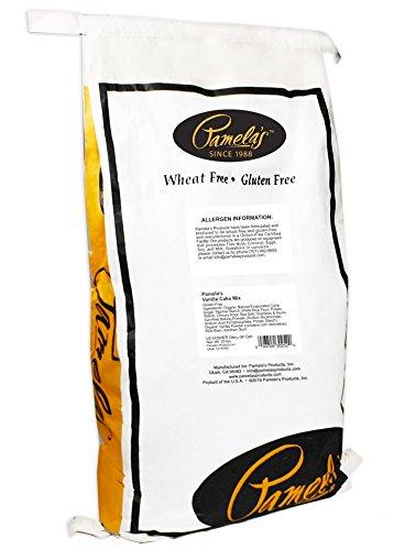 Pamela's Products Cake Mix, Classic Vanilla, 25-Pound Bag