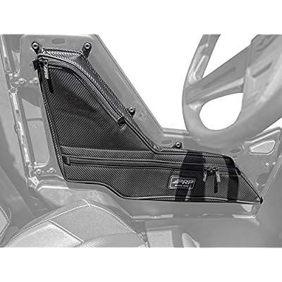PRP Seats E78 Door Bag and Arm Rest Set for Polaris RS1 Black Vinyl Coated Nylon: Automotive