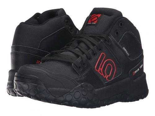 民主主義伝染性羽Five Ten(ファイブテン) メンズ 男性用 シューズ 靴 スニーカー 運動靴 Impact High - Black/Red [並行輸入品]