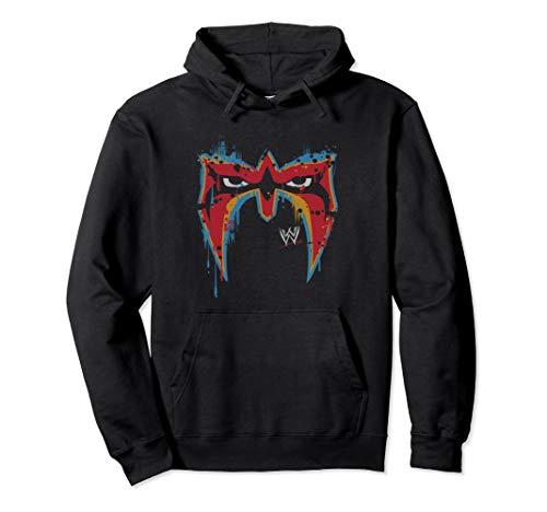 WWE The Ultimate Warrior Mask Pullover Hoodie (Wwe Hooded Sweatshirt)