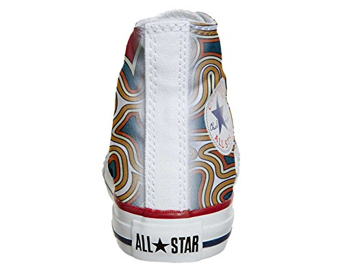 Converse Customized Adulte - chaussures coutume (produit artisanal) Tribal Texture