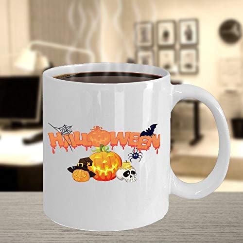 Halloween Mugs - Fun Halloween Mug - Spooky Gift - Halloween Party Favors - Best Friend Mug - Under 20 Gifts - Fall Decor - Sanderson -