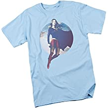 Cloudy Circle -- CW's Supergirl TV Show Adult T-Shirt