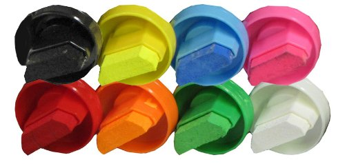 """NEOMarker Extra-Wide 1¼"""" Tip Waterproof Glass Marker - Set of 8 by NEOPlex (Image #2)"""