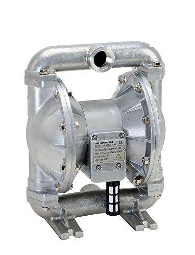 FUELWORKS Heavy Duty Air-Operated Aluminium Diaphragm Pump (Viton- 12GPM 1/2'')