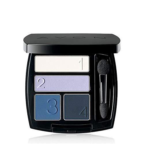 Yuktha Eternals True Color Perfect Wear Eyeshadow Quad 5G – 28172 (Blue Diamond)