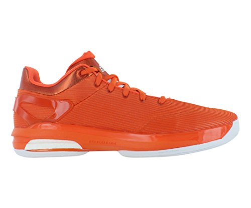Adidas Sm Crazylight Stimuleren Lage Mannen Schoenen Maat Oranje / Wit
