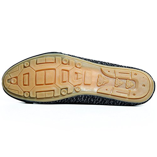 Santimon Uomo Donna Traspirante Antiscivolo Scarpe Outdoor Backless Per Il Tempo Libero A Piedi Pantofole Mocassini Punta Nera