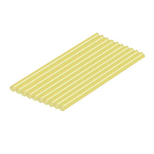Super PDR Yellow PDR Glue Sticks Paintless Dent Repair Hot Melt Glue Sticks-10 Pack for Glue Gun