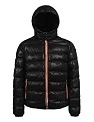 ZSHOW Men's Down Jacket Winter Padded Coat with Removable Hood
