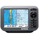 """SI-TEX SVS-880C 8"""" Chartplotter w/Internal GPS Antenna & Navionics Card"""