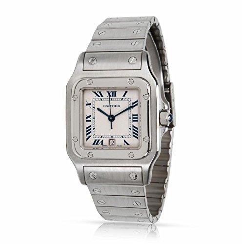 Cartier Santos Galbee W20060D6 Men's Watch in Stainless Steel (Certified Pre-Owned)