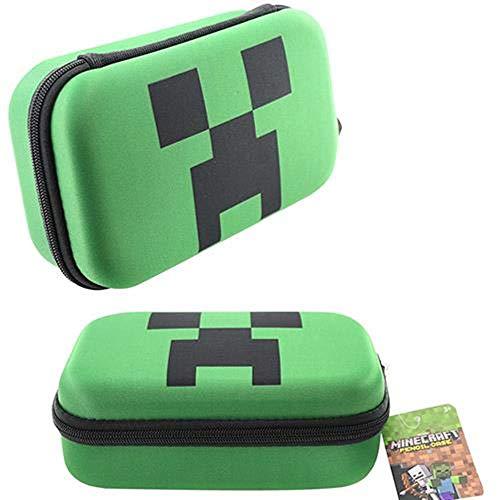 Minecraft Creeper Molded Pencil Case