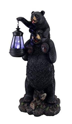 Bear Solar Light Statue in Florida - 6