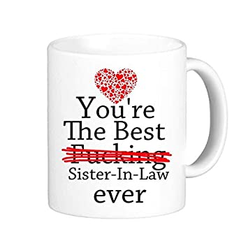 Amazoncom Lreraypo Novelty Gifts For Sister In Law Funny Quotes