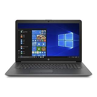 "HP 17.3"" Diagonal HD+ SVA BrightView WLED-Backlit Premium Laptop | Intel Quad Core i5-8265U | 8GB DDR4 Memory | 1TB HDD | Intel UHD Graphics 620 | DVD-RW | HDMI | Bluetooth | WiFi | Windows 10 | Gray"