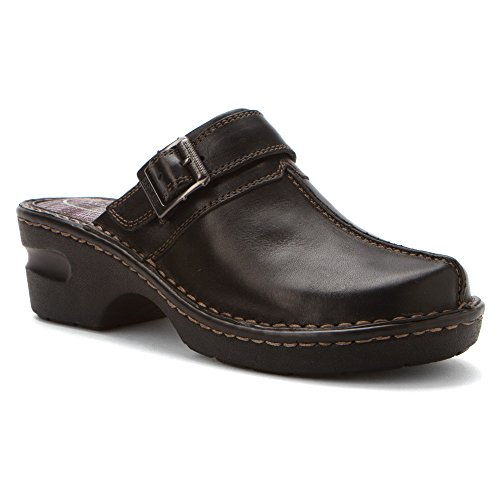 Eastland Women's Mae Clog Black Leather