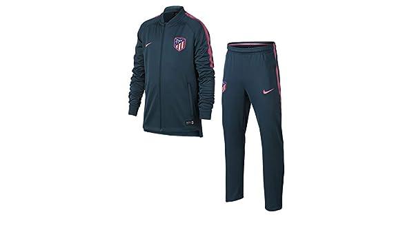 Nike ATM Y Nk Dry Sqd TRK Suit K Chándal Atlético de Madrid, Niños ...