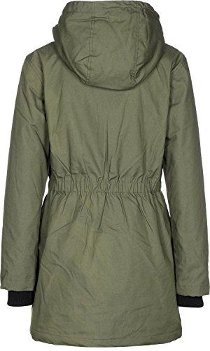 Verde Oliva Mujer Minimum Para Abrigo t4nOHwFqT