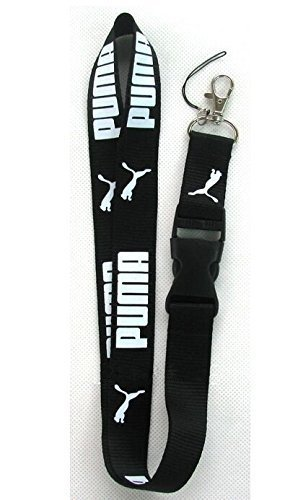 Puma Keychain Key Chain Lanyard Black Neck Strap with for sale  Delivered anywhere in Canada