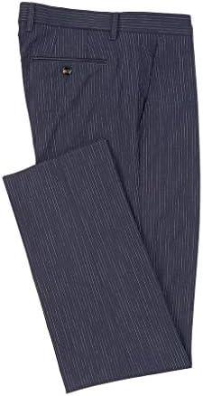 メンズ カジュアル Alex Slim-Fit Slub Stripe Suit Separates [並行輸入品]