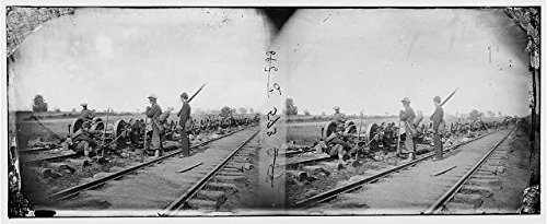 Photo: American Civil War,Manassas Junction,Virginia,VA,Soldiers,Damaged - In Stores Manassas Va