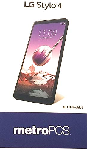 LG Stylo 4 Phone - Locked - MetroPCS Only (Best Metro Pcs Phone Under 100)