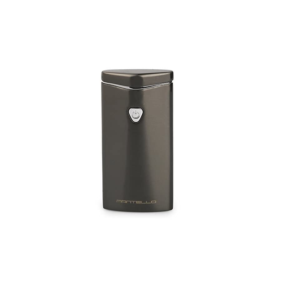 Mantello USB Rechargeable Windproof Arc Lighter Gunmetal
