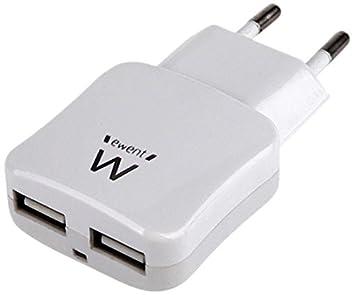 Ewent EW1215 - Cargador (Interior, Universal, USB, Color ...