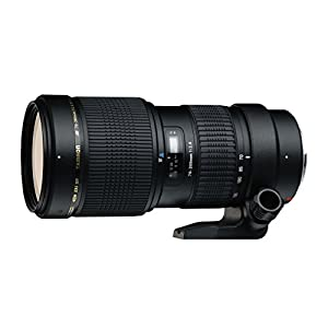 RetinaPix Tamron A001-C SP 70-200mm F/2.8 Di LD [IF] Macro Fast Telephoto Zoom Lens with Hood for Canon DSLR Camera (Black)