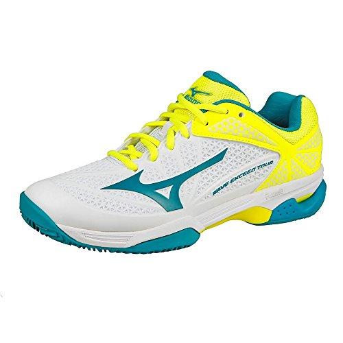 Mizuno - Zapatillas de tenis de Material Sintético para hombre blanco Bianco