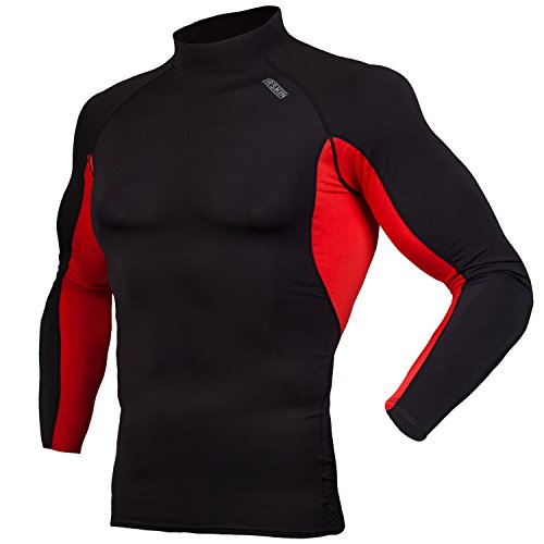 DRSKIN UV Sun Protection Long Sleeve Top Shirts Skins Tee Rash Guard Compression Base Layer UPF 50+ (RSB-RE96, - Swim Sportswear