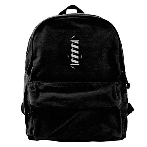 (NOLIEE Canvas Backpack Rebel Barber Canvas Shoulder Backpack Limited Edition Premium Unique Chrismats Baseball Backpack Travel Rucksack)