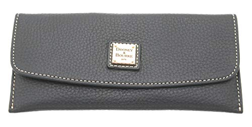 Dooney & Bourke Slim Wallet - Dooney & Bourke Pebble Grain Slim Continental Clutch Wallet