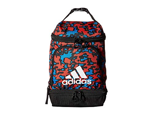 adidas Unisex Excel Lunch Bag Hi-Res Red Flow Blur/Black/White One Size