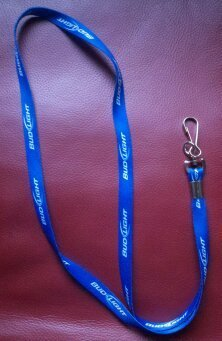 Bud Light Blue Lanyard (Beer Lanyard)