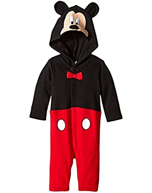 Disney Baby-Boys Newborn Long Sleeve Mickey Coverall