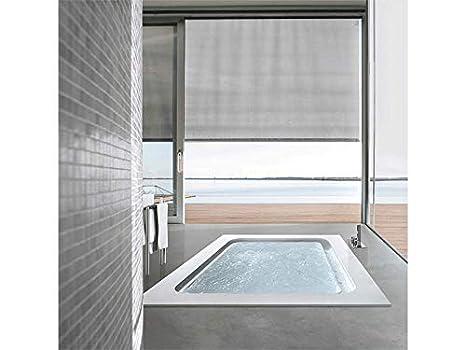 Vasca Da Bagno Hafro Prezzi : Hafro vasca idromassaggio a pavimento bolla r sfioro boa n