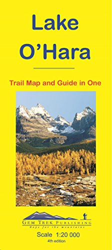 Lake O'Hara : Trail Map and Guide in One